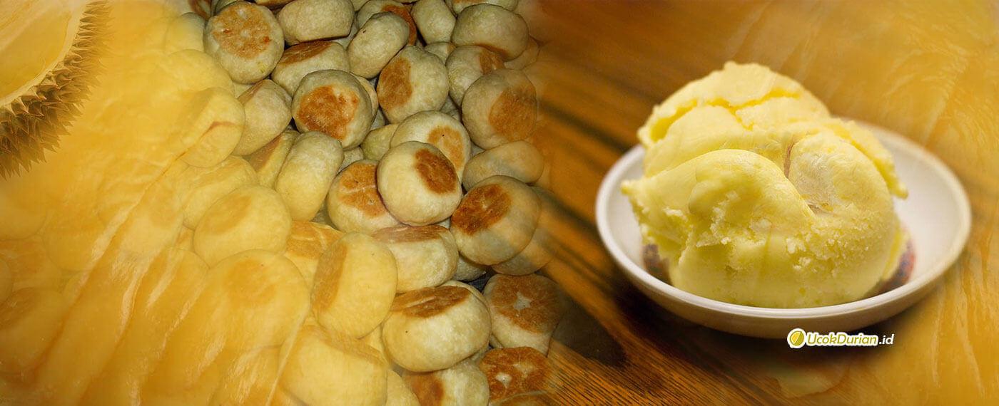 Durian untuk Kue dan Es Krim