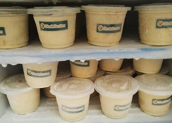 ice cream durian 150ml