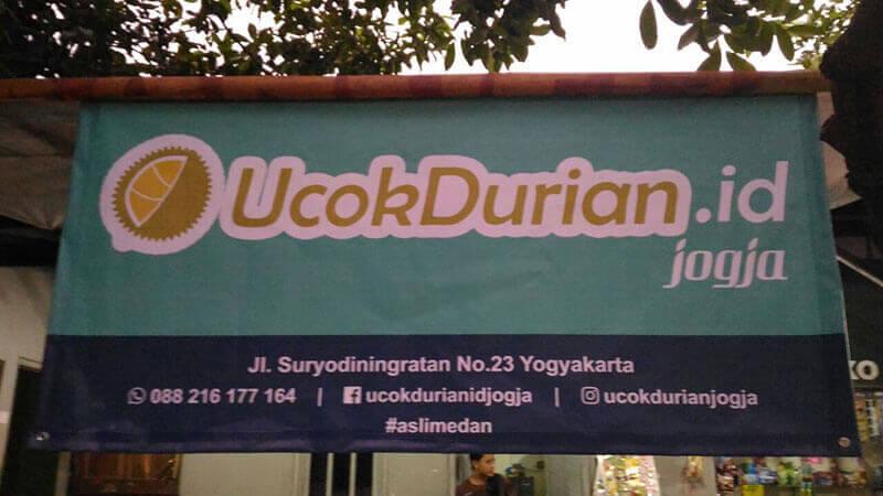 alamat ucok durian jogja