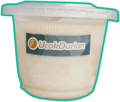 ice cream durian ucok