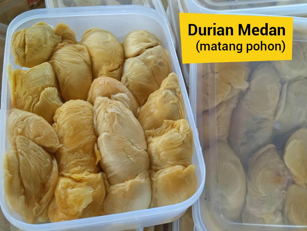 Buah Durian Daging Pancake Durian Medan Ucok Durian