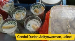 es cendol durian adityawarman
