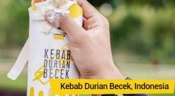 kebab durian becek